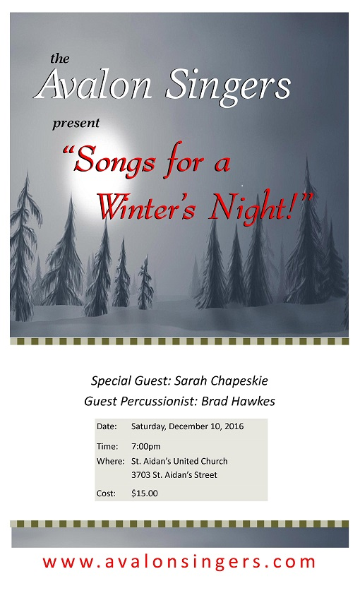 Avalon Singers Winter Concert